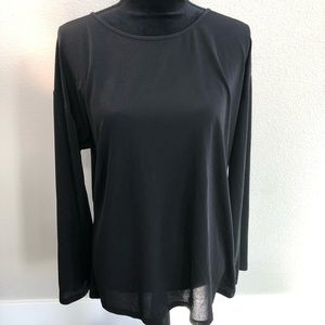 Lucy Long Sleeve mesh shirt top